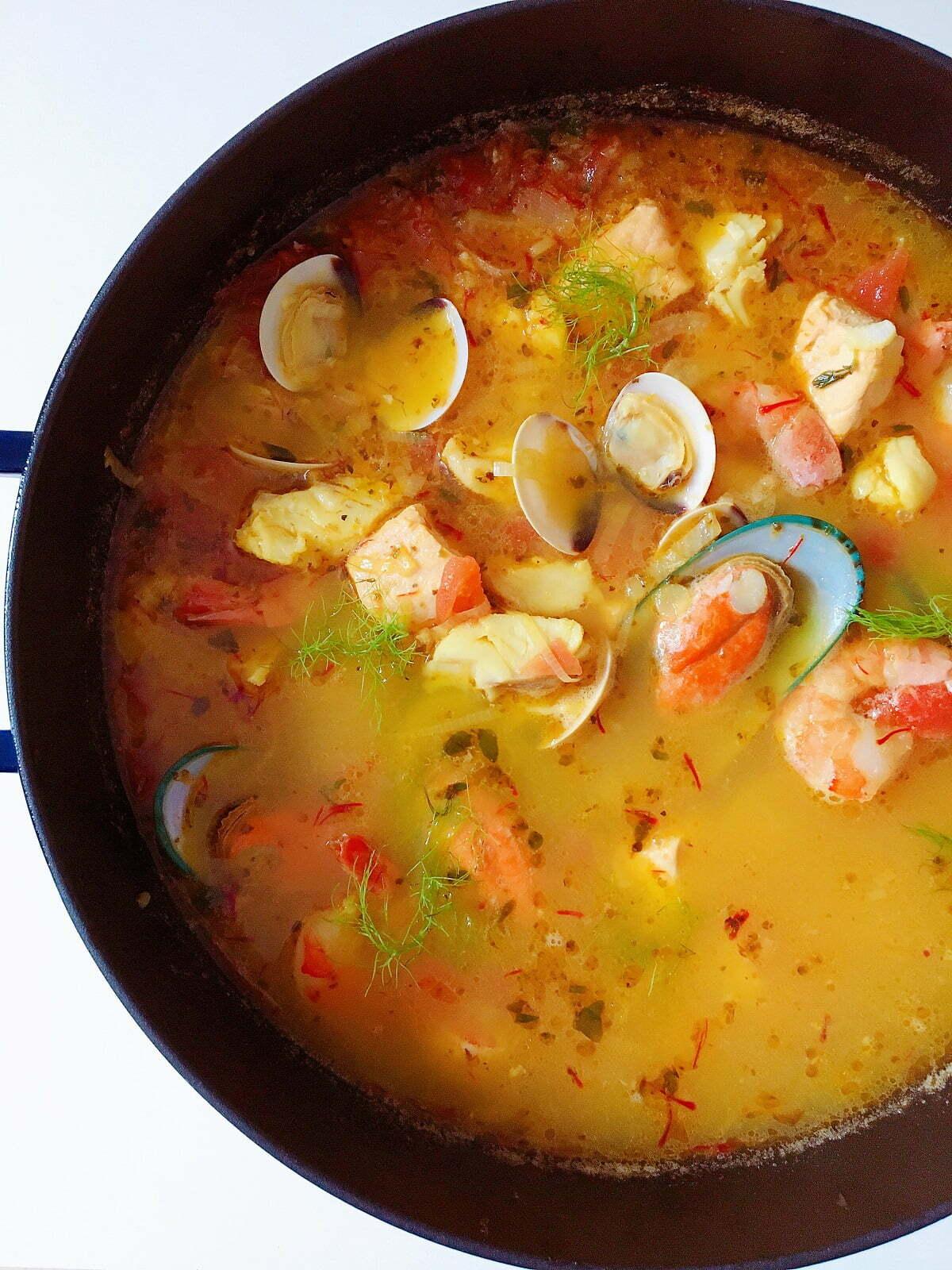 Sumptuous Bouillabaisse Marseilles: A Classic and Easy Fish Soup